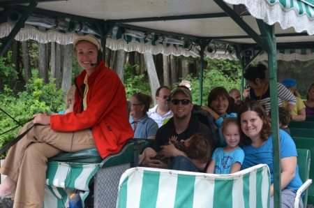Horse drawn carriage tour of Mackinac Island